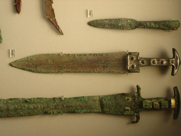 Mycenaean swords