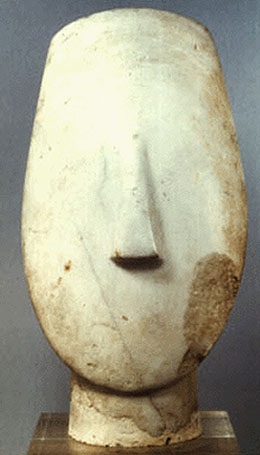 Cycladic idol from Syros